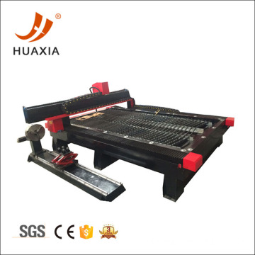 CNC pipe and sheet cutting machine with drilling